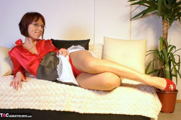 Naughty striptease