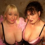 Jo juggs & Mature wife Kim